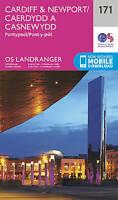 Cardiff & Newport, Pontypool by Ordnance Survey (Sheet map, folded book, 2016)