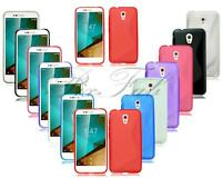 New Gel Silicone Rubber Phone Case For Vodafone Mobile Phone + Screen Protector