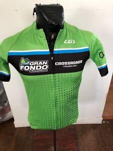MENS Small Louis Garneau Cycling Jersey Gran Fondo Mont-Treblant
