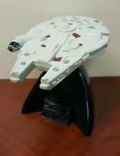 1996 Vintage Star Wars Millennium Falcon With Stand Lucas Film Collectors Series
