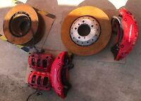 Porsche Panamera 970 GTS BREMBO brake calipers rotors Bremssättel Bremsscheiben
