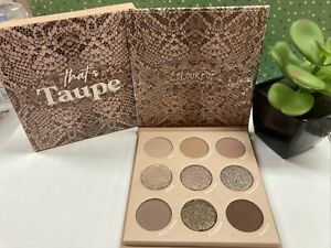 COLOURPOP Pressed Powder Shadow Palette in THAT'S TAUPE Ready to Ship NIB