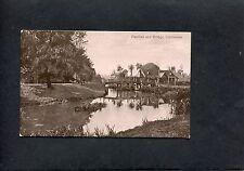 C1910 View Of Pavillon & Bridge, Colchester, Essex.