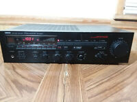Vintage Yamaha RX-500U Natural Sound Stereo AM/FM Receiver Works No Remote