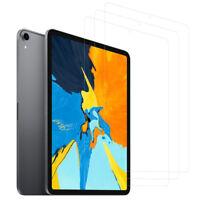 3 Packs HD Screen Protector ipad 4 5 6 pro 12.9 11 Air 2018 Installation Frame