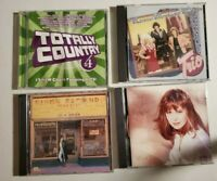 Totally Country Suzy Bogguss and more lot of 4 country music CDs