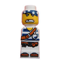 LEGO 4x Microfig pirata Plank BLANCO PIRATA BLANCO MICROFIGURA NUEVO micofig