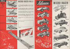 NÜRNBERG, Prospekt 1961, Schreyer & Co. SCHUCO Automobile Oldtimer Go-Kart