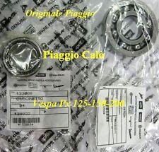 CUSCINETTI ALBERO MOTORE ORIGINALI PIAGGIO VESPA PX 200 1977>2015