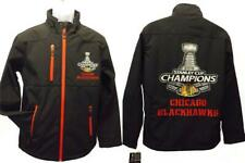 New 2015 Chicago Blackhawks MENS Sizes S-M Stanley Cup Champion Jacket