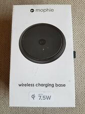 Mophie Wireless charger for smartphones with QI charge Black EU plug Original