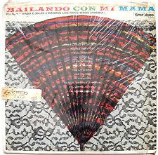 LP- Bailando Con Mi Mama- Bandas Los Rancheros Mariachi- GranDisco K-803