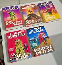 LOT OF 5 L RON HUBBARD THE MISSION EARTH COMPLETE HC FIRST EDITIONS SCIENTOLOGY