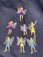 Lot Of 7 Mini Fairy Figurines Safari Ltd. Fairy Garden Fairies
