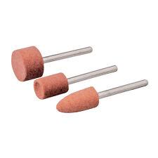 Silverline 282582 herramienta rotativa Juego de piedra de molienda 3pc 9, 10/15mm de diámetro