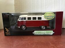 !!!! DIE CAST COLLECTIBLE  '62 VOLKSWAGEN MICROBUS COLLECTION 1:18 !!! *A010