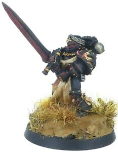 40k Space Marines Black Templars Emperor's Champion Limited Edition Metal