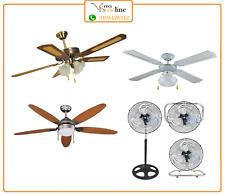 Ventilatore da soffitto vari modelli 4 5 pale ventilatori piantana da tavolo