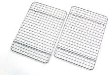 New listing Checkered Chef Cooling Racks For Baking - Quarter Size - Stainless Steel Cooling