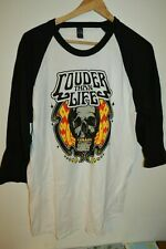 Mens Louder Than Life Alice in Chains Nin Deftones Baseball T-Shirt size Small