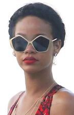 Miu Miu Oversized Sunglasses SMU 11N - Boxed Navy+ Gold