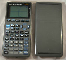 Texas Instruments Ti-82 Graphic calculator Works Great Ti 82 Graphing Vintage