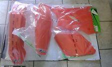 KIT PLASTICHE KTM SX 125 250 300 2001 2002 01 02 KIT 4 PZ COLORE ARANCIO