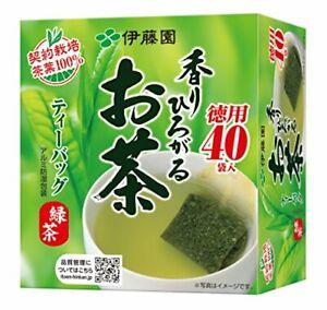 Itoen Oi ocha Japanese Green Tea Box set 40tea bags From japan