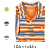 Timberland Men's Short Sleeve Striped Summer Polo Shirt 6854J
