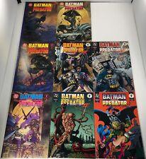 LOT OF 12  BATMAN VS PREDATOR #1-3 / V2 #1-4 / V3 #1-4 SETS + VAR DARK HORSE/ DC