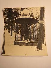 Danzig - Johannes-Gutenberg-Denkmal  am 21. Januar 1929 um 4-5 Uhr / Foto