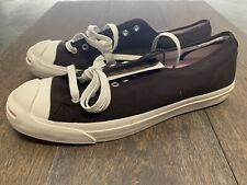 Converse JACK PURCELL Brown/Pink Soft Material Sneakers shoes Size 11 New!