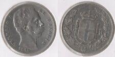 "Italia 5 LIRE 1879 R (S) ""Umberto I. (1878-1900)"" F. VZ ** ARGENTO ** re de 'Italia"