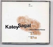 Katey Sagal Maxi-CD I Don't Wanna Know - US 2-tr. promo - peggy bundy al