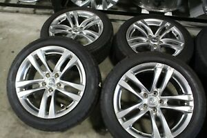 "18"" Infiniti G37 Factory OEM Silver Wheels Rims Falken Tires 73723"