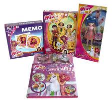 """Mia and Me 4er Set Backbuch, Barbie Puppe """"Lasita"""", Memo und ein 200 Puzzel"""