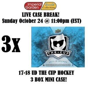 2017-18 UD THE CUP HOCKEY 3 (THREE) BOX CASE BREAK #2766- Philadelphia Flyers