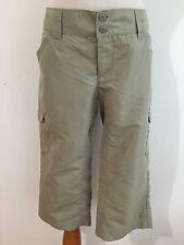 Columbia Omni-Shade Sun Protection Capri Pants Mossy Taupe Size 6W/18L