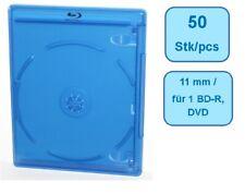 Blu-Ray ELITE Hüllen 11 mm für 1 Disc - 50 Stück - blau