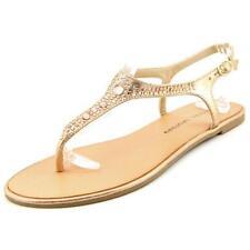 Sandalias con tiras de mujer Laundry color principal oro