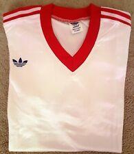 Adidas classic soccer shirt  ADIDAS VENTEX VINTAGE nylon Trefoil oldschool 80
