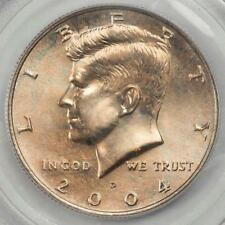 PCGS 2004 MS64 Copperwash Kennedy Half Dollar Error Off Color Super Eye Appeal