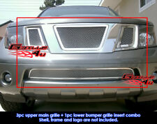 For 05-07 Nissan Pathfinder/Frontier Mesh Grille Combo