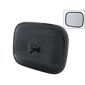 """47-72 Chevy GMC Pickup Truck 6"""" x 8"""" Exterior Rectangle Black Rear View Mirror"""
