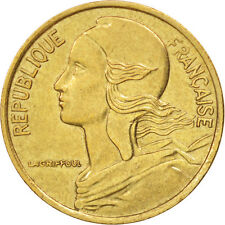 [#407314] France, Marianne, 5 Centimes, 1990, Paris, AU(50-53), Aluminum-Bronze