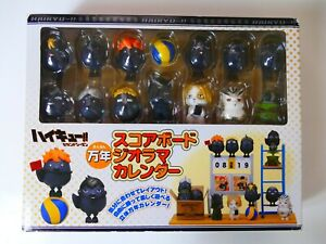 Haikyu!! Scoreboard Diorama Calendar Permanent Limited Edition Anime Figure
