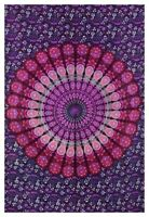 New Indian Mandala Tapestry 100%cotton Wall Hangings Bedding Bedspread Bed Sheet