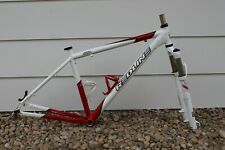 2012 Redline D600 Alloy Mountain Bike Frame Rock Shox Reeb SL 29er Fork Sz. 19