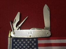Vintage Camillus U.S. Military 4 Blade Utility Pocket Knife Made In 1984