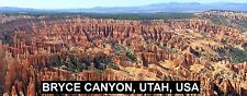 PANORAMA FRIDGE MAGNET of BRYCE CANYON UTAH USA